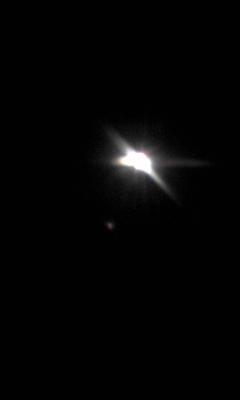 満月にサプライズ